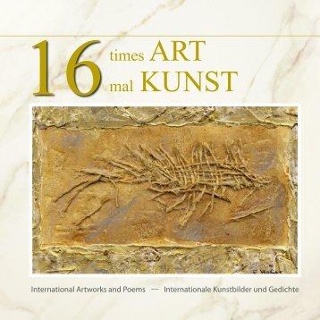 16 times ART - 16 mal KUNST