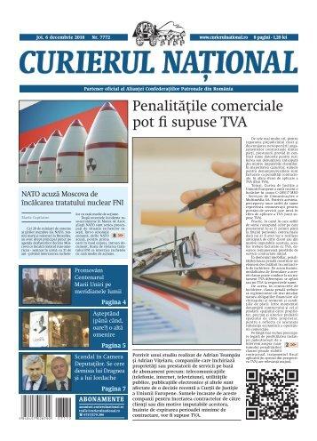Curierul Național - ediția din 6 decembrie 2018