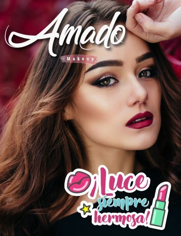 Catalogo Amado Makeup