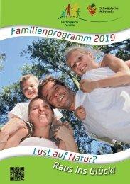 Familien-Programme 2019 im Schwäbischen Albverein.
