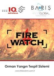 Yangın Takip ve Tahmin Sistemi_Orman-ArgeGlobal
