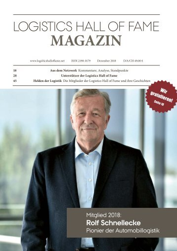 Logistics Hall of Fame Magazin 2018