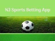 NJ Sports Betting App