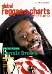 Global Reggae Charts - Issue #19 / December 2018