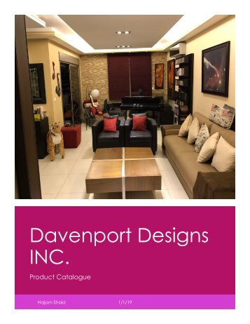 Davenport Designs - Catalogue - PDF