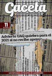 Gaceta UAQ 11 | Noviembre 2018