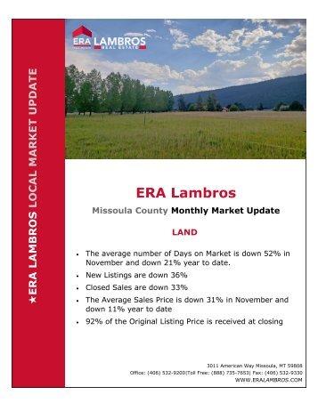 Missoula Land Update - November 2018