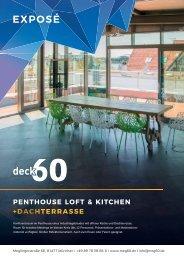 Exposé deck60 - Penthouse Loft & Kitchen