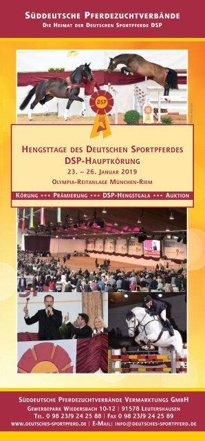 DSP-Hengsttage 2019 - Das Lot