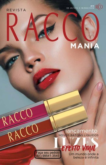 Revista Racco - pedidos (61)995413545