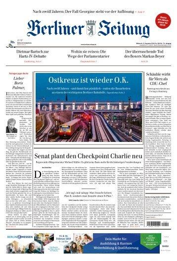 Berliner Zeitung 05.12.2018