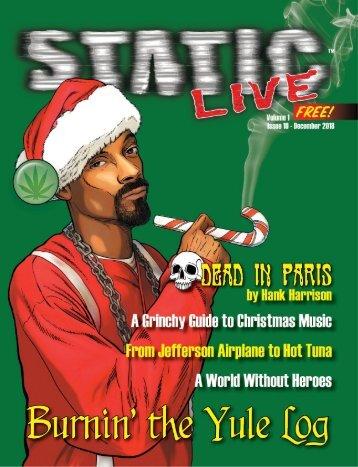 Static Live Magazine December 2018