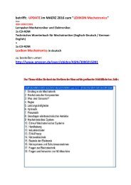 Leseprobe: Einfuehrung Mechatronik/ Erklaerungen Technik-Begriffe