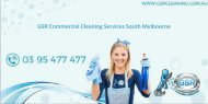 GSR Commercial Cleaning Services South Melbourne