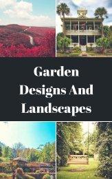 Why do we need a Landscape Designer?