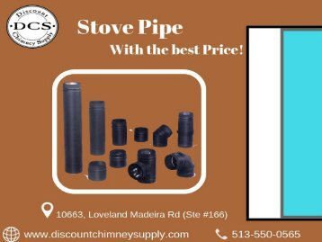 Buy best quality Stove Pipe from Discount Chimney Supply Inc.