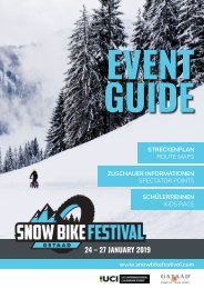 Snow Bike Festival Event Guide 2019