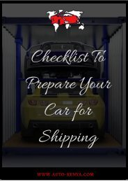 Shipping a Car to Kenya | Car Shipping to Kenya from UK - AutoKenya.com