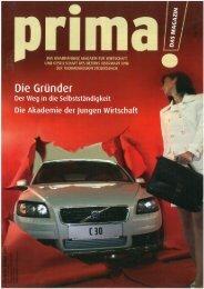 prima! Magazin - Ausgabe Jänner 2007