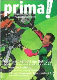 prima! Magazin - Ausgabe März 2007