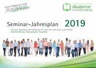 PhV Akademie Seminarjahresplaner 2019