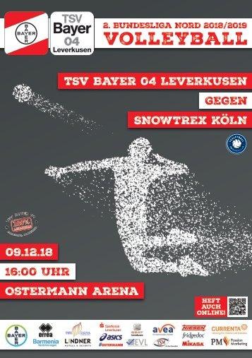 Spieltagsnews Nr. 6 gegen DSHS SnowTrex Köln