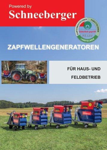 Schneeberger Zapfwellengenerator