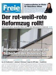 Der rot-weiß-rote Reformzug rollt!