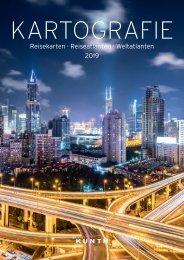Kartografie Katalog Kunth 2019