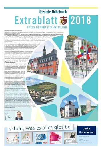 Extrablatt Kreis Bernkastel-Wittlich 2018