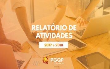 Relatório 2017 e 2018 _PGQP_final e oficial