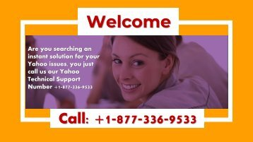 How Do I Fix My Yahoo Mail Account Number +1-877-336-9533