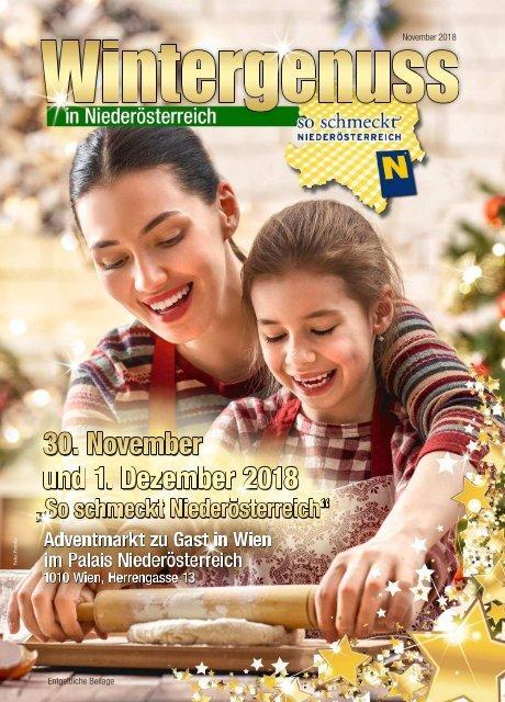 Advent So Schmeckt NÖ 2018-11-27