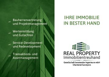 Immobilientreuhand GmbH - Ihre Immobilie in bester Hand