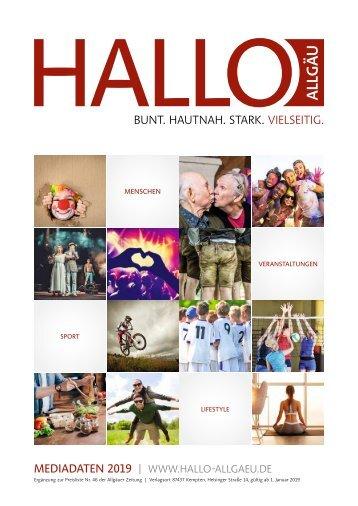 Hallo Allgäu Mediadaten 2019