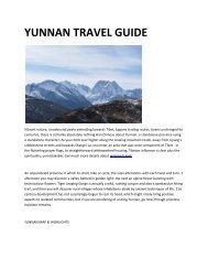 6 yunnan travel