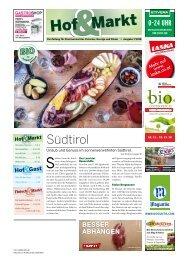Hof & Markt | Fleisch & Markt | Hof & Gast 07/2018 a