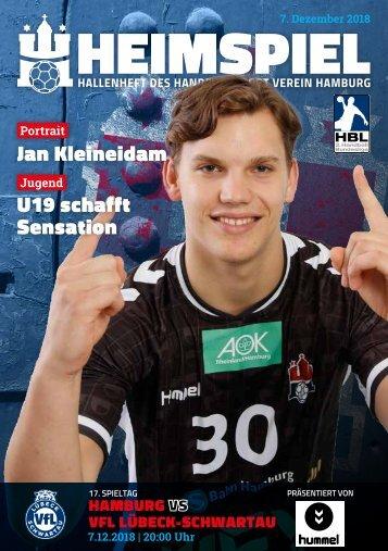Hallenheft | Handball Sport Verein Hamburg vs. VfL Lübeck-Schwartau