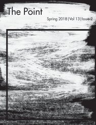 The Point: Spring 2018