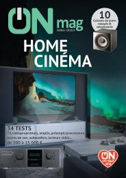 ON mag - Guide Home Cinéma 2018
