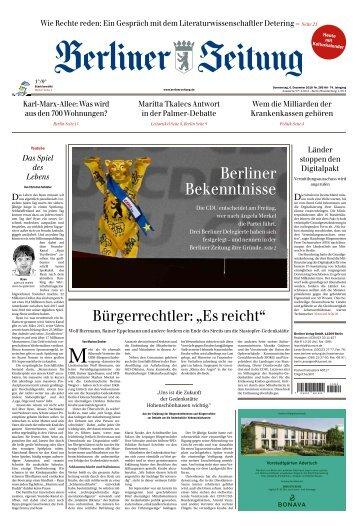 Berliner Zeitung 06.12.2018