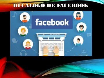 Decálogo Facebook