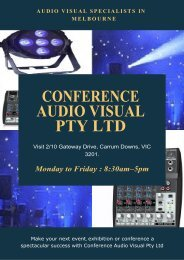 PA System Hire – Why You Need The Experts