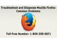Troubleshoot and diagnose Firefox common problems-converted