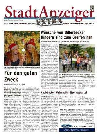 Stadtanzeiger Extra kw 49