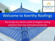 To Get The Best Deal On Top Roof Tile Brands Like Decra In India Look No Further