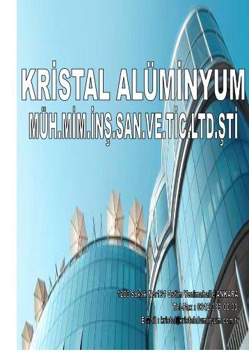 Kristal_Alüminyum_Katolog