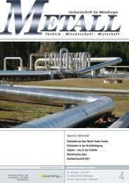 Technik Wissenschaft Wirtschaft - Metall-web.de
