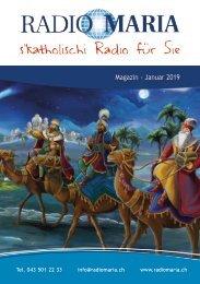 Radio Maria Magazin - Januar 2019