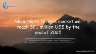 Global Gate Drivers market will reach 320 million US$ by the end of 2025